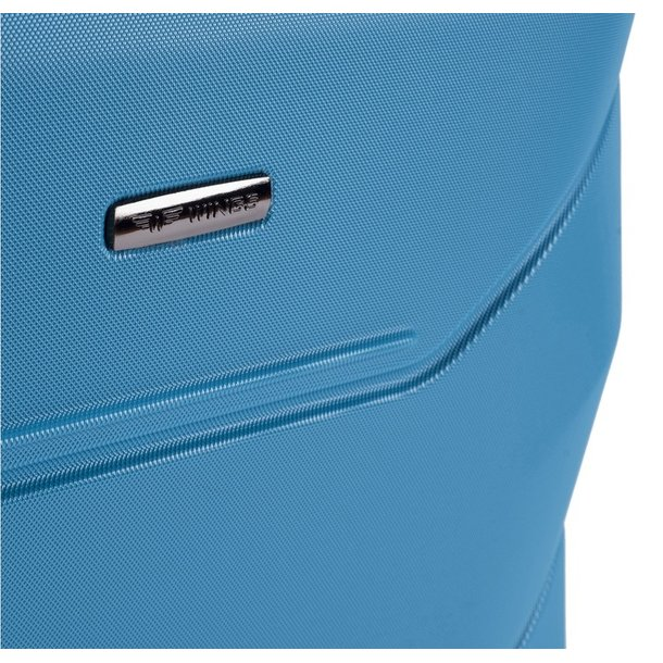 Moderní cestovní kufry PAVO - NAVY modré
