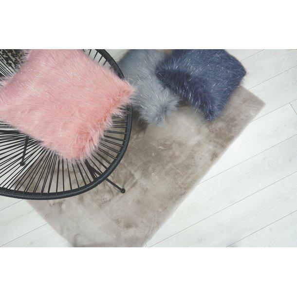Dětský plyšový koberec CHRISTIANIA - taupe
