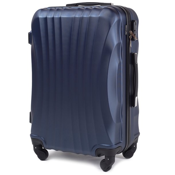 Moderní cestovní kufr SAND - NAVY modrý - vel. XS