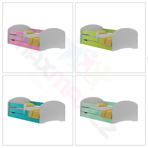 Dětská postel se šuplíkem AQUA 200x90 cm