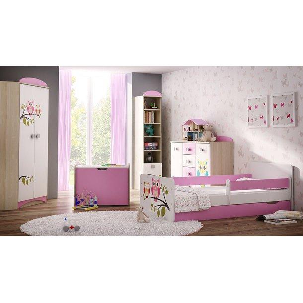 Dětský pokoj SOVY - postel k sestavě