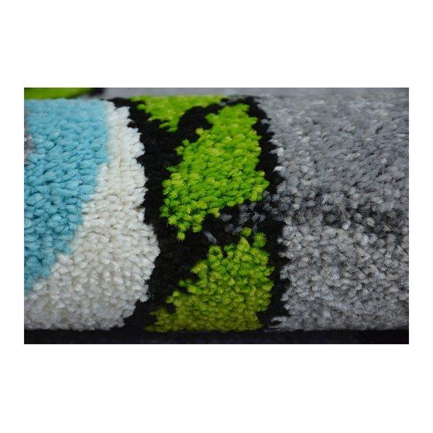 Dětský koberec FUNKY TOP TIG zvířátka - grafit