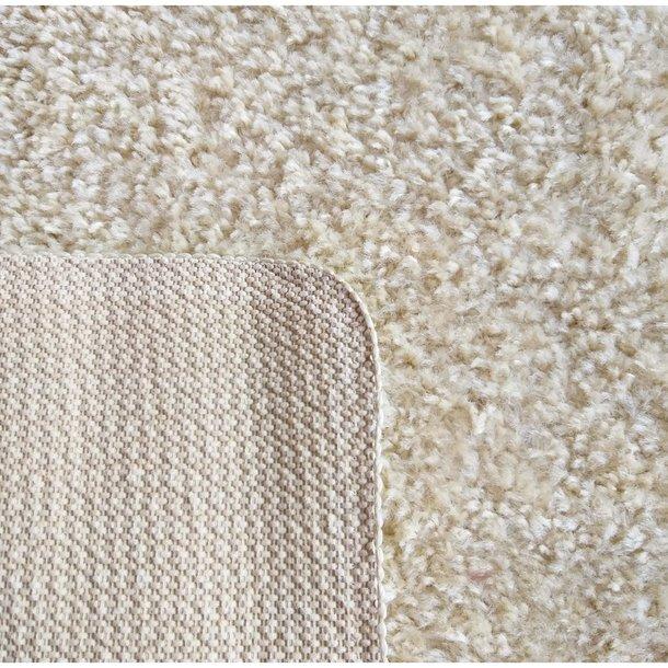 Moderní koberec SHAGGY CAMIL - béžový