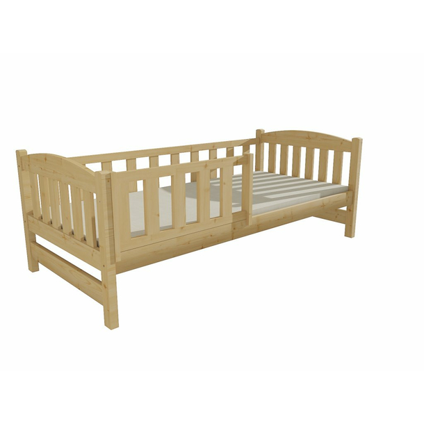 Dětská postel z MASIVU 200x90cm SE ŠUPLÍKY - DP002