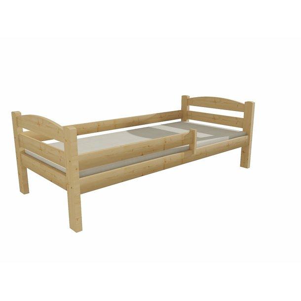 Dětská postel z MASIVU 200x90cm SE ŠUPLÍKY - DP005