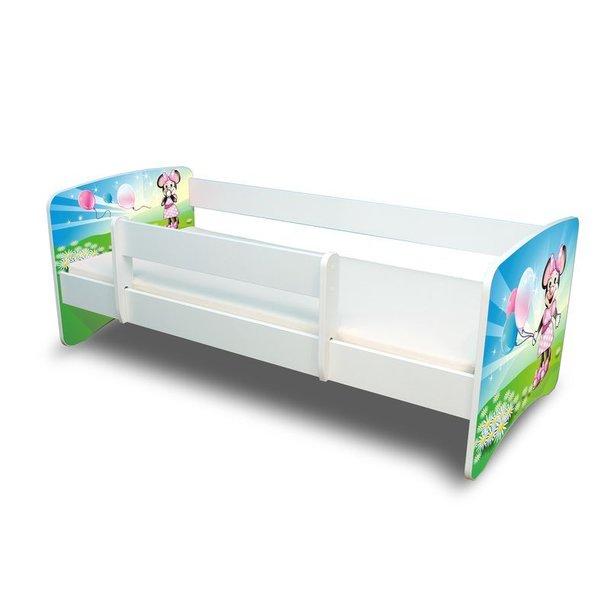 SKLADEM: Dětská postel 160x70 cm - MYŠKA S BALÓNKEM 2. II.
