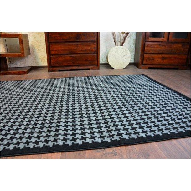 SKLADEM: Moderní koberec KOHOUTÍ STOPA - 120x170