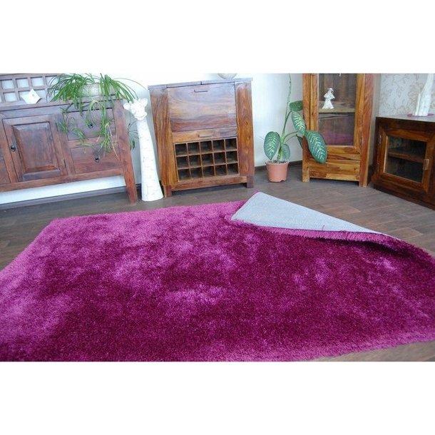 Kusový koberec SHAGGY MACHO fialový - 160x220 cm