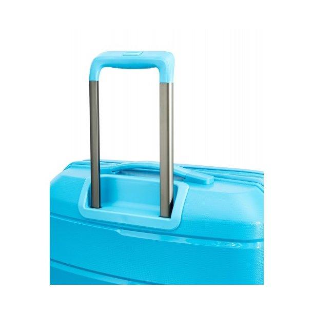 Moderní cestovní kufry BAHAMAS - světle modré