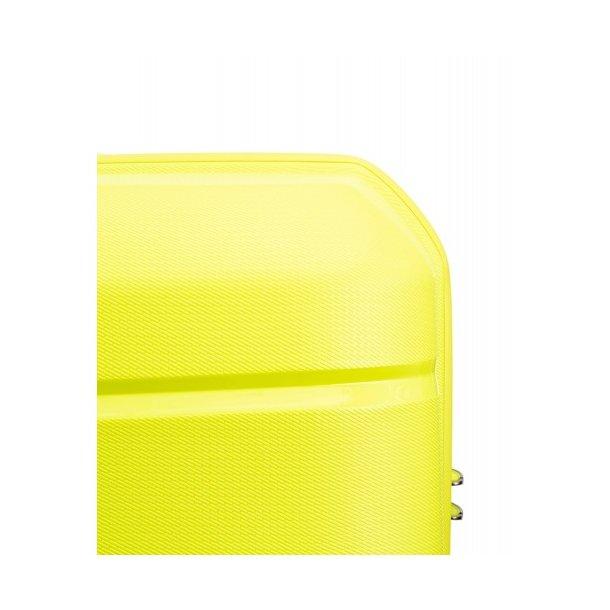 Moderní cestovní kufry BAHAMAS - světle zelená