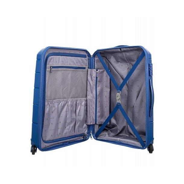 Moderní cestovní kufry BAHAMAS - modré