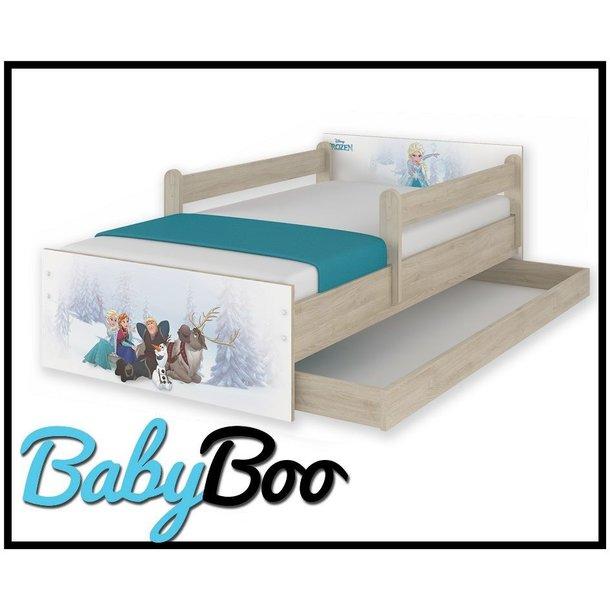 SKLADEM: Dětská postel MAX se šuplíkem Disney - FROZEN 180x90 cm