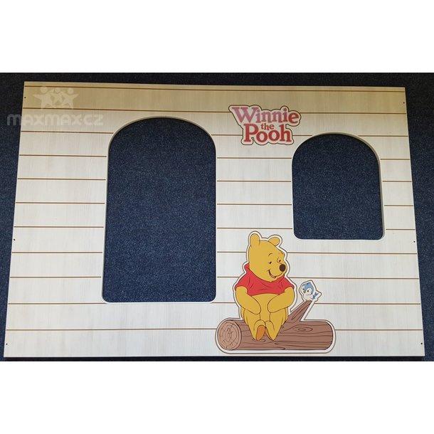SKLADEM: Dětská postel DOMEK Disney - MEDVÍDEK PÚ A TYGŘÍK 160x80 cm