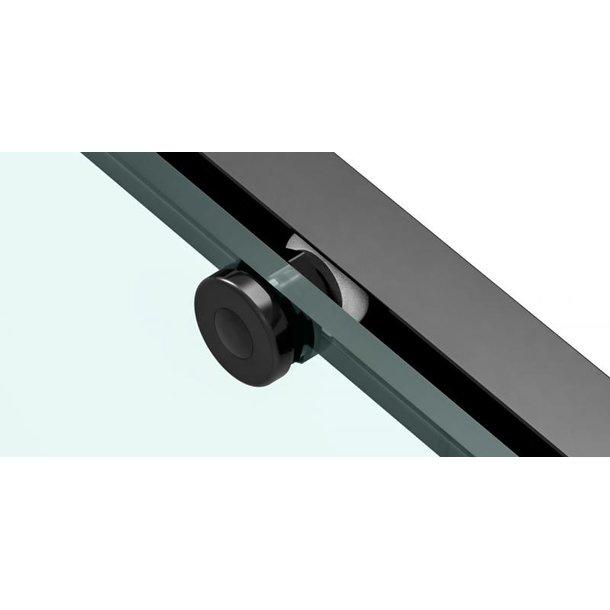 Sprchový kout MAXMAX Rea SOLAR 120x90 cm - černý