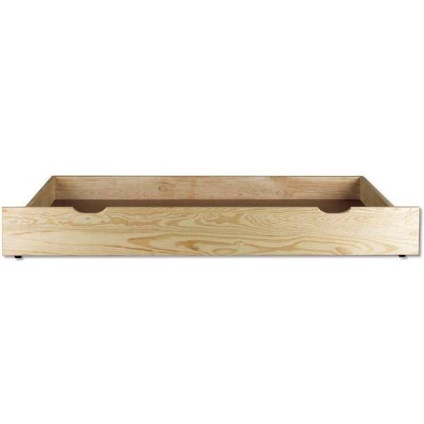 SKLADEM: Postel z masivu borovice - jednolůžko 200x90 cm - MAX 122
