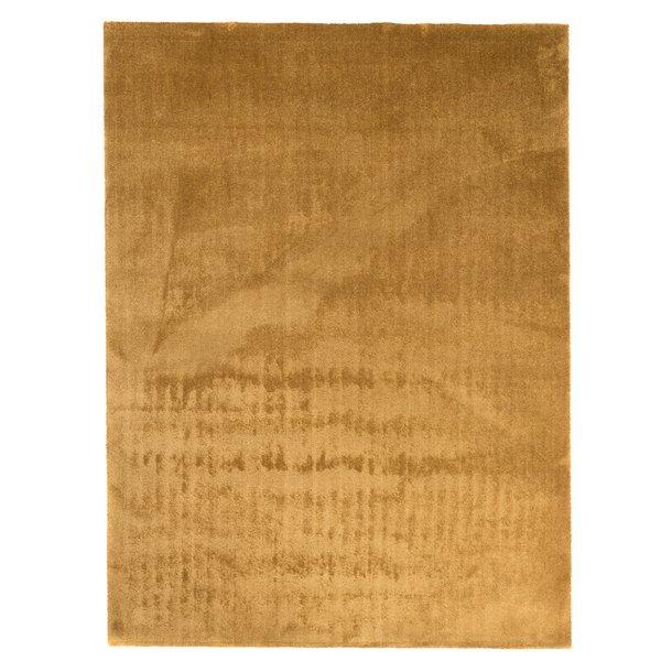 Kusový koberec MODULE hnědý - řezatelný a pratelný