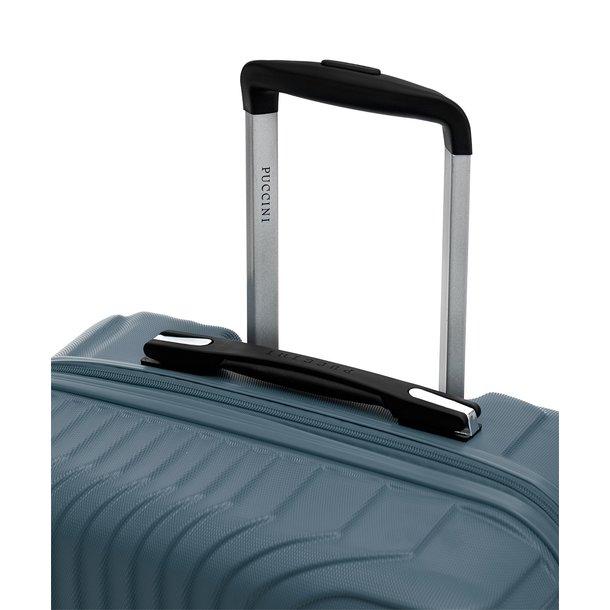 Moderní cestovní kufry FLORENCE - modré