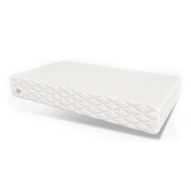 SKLADEM Postel z masivu 200x120 cm - MK3D - bílá