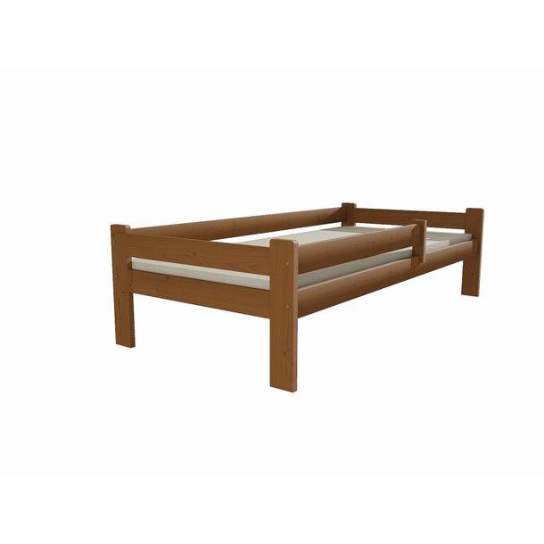SKLADEM: Dětská postel z MASIVU 200x90cm SE ŠUPLÍKY - DP012 - moření dub