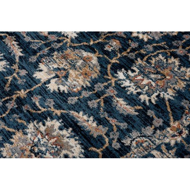 Kusový koberec SHAGGY AMAZON - typ A - modrý