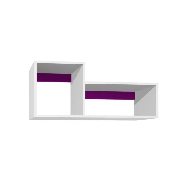 SKLADEM: Police - BOSTON - tmavě fialová/bílá