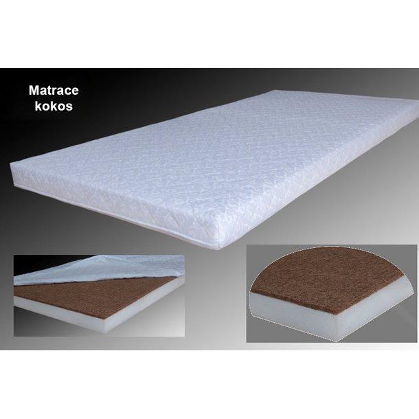 SKLADEM: Dětská postel se šuplíkem VIOLET 160x80 cm + matrace kokos/molitan