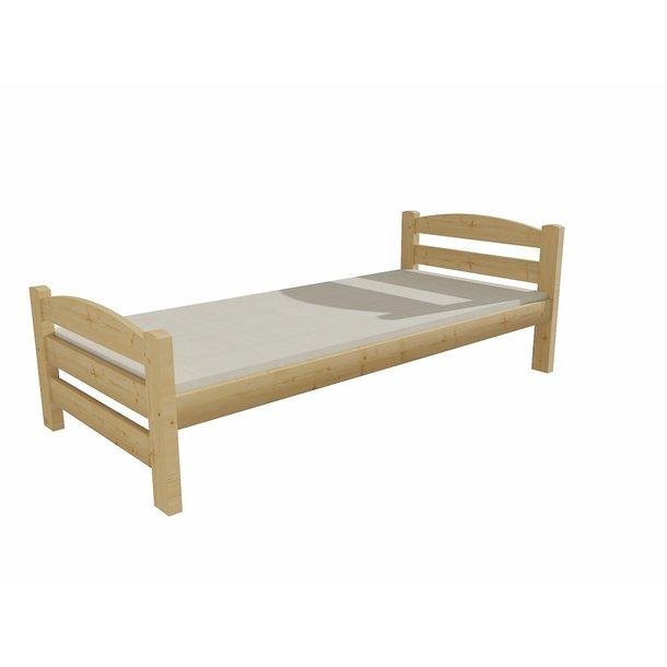 SKLADEM: Dětská postel z MASIVU 180x80cm bez šuplíku - DP008