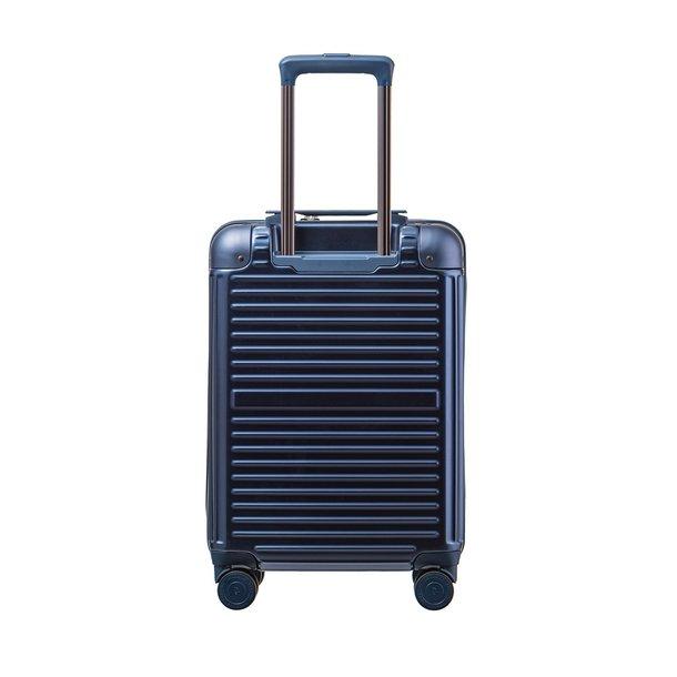 Moderní cestovní kufry DALLAS - NAVY modré