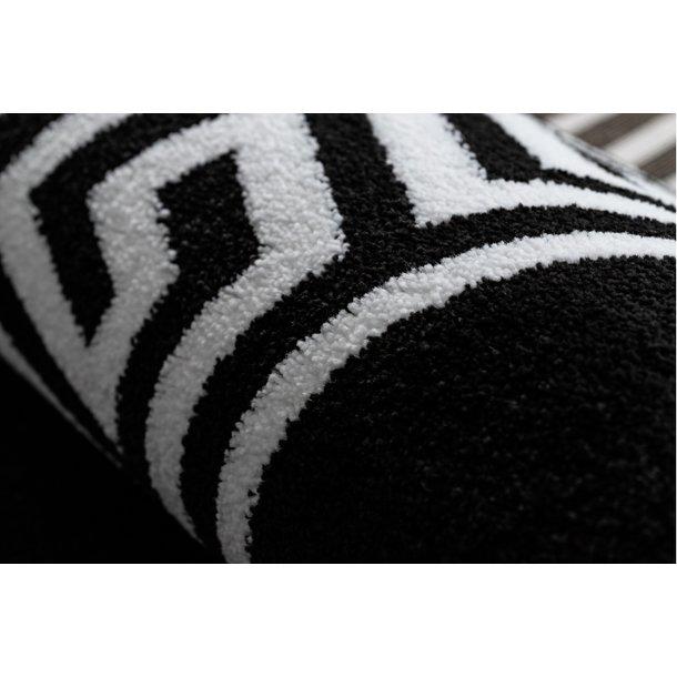 Moderní kusový koberec HARRY greek - černý/bílý