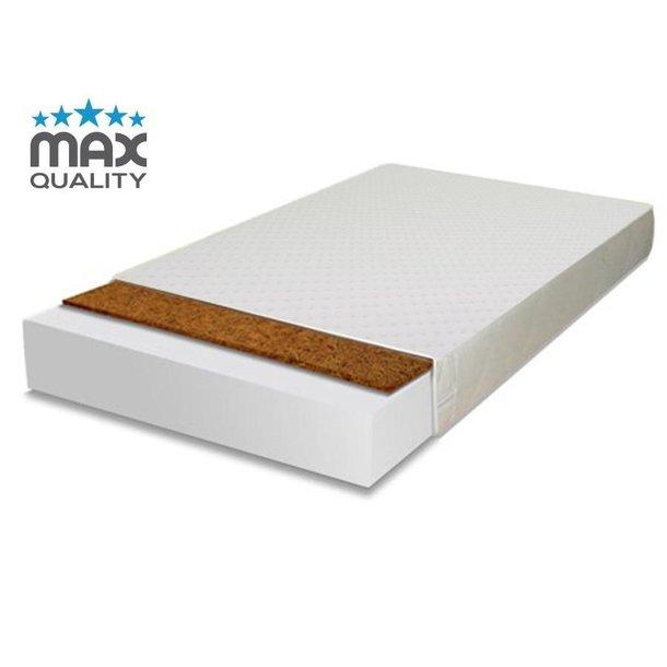 SKLADEM: Dětská postel HNĚDÝ MEDVÍDEK 140x70 cm + matrace kokos/molitan