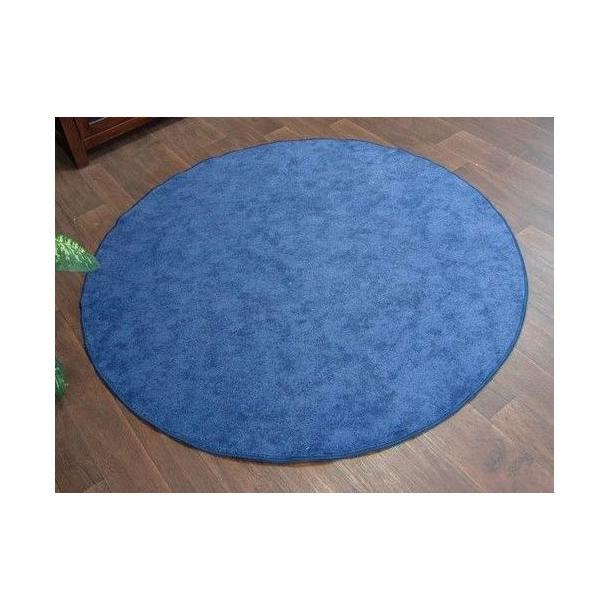 Kulatý koberec SERENADE - světle modrýKulatý koberec SERENADE - modrý