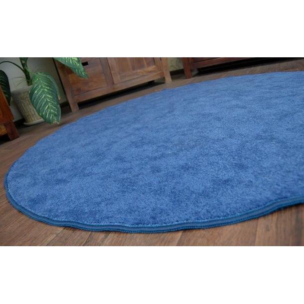 Kulatý koberec SERENADE - modrý