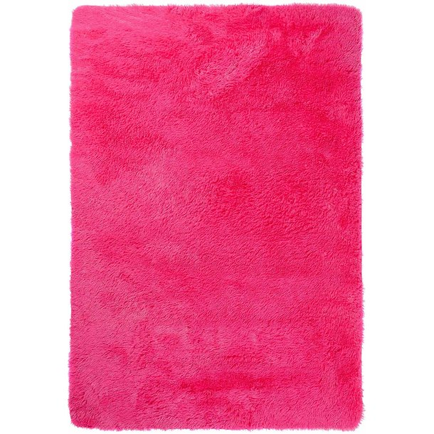 Plyšový koberec TOP - TMAVĚ RŮŽOVÝ