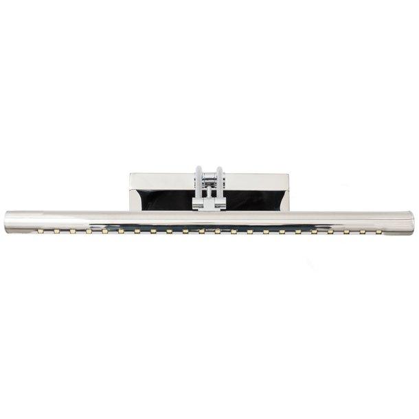 Nástěnné LED svítidlo nad zrcadlo HASH - 55 cm - 7W - chromové