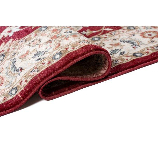 Kusový koberec DUBAI kilim - červený/béžový