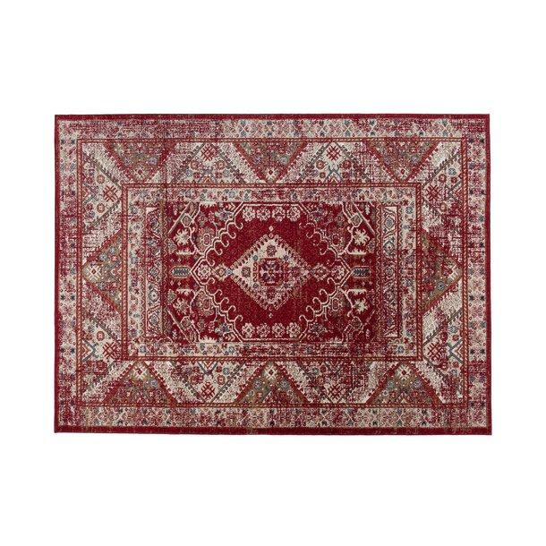 Kusový koberec DUBAI lagos - červený