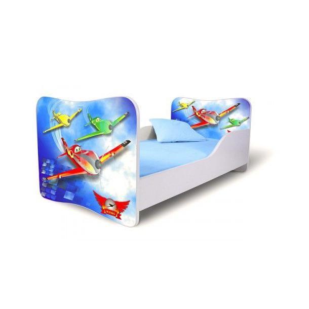 Dětská postel 160x80cm - LETADLA