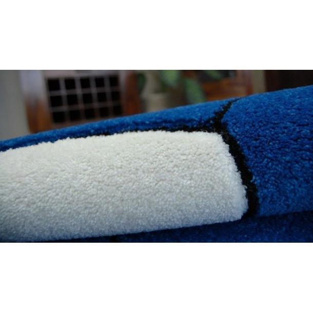 Dětský koberec KOPAČÁK modrý