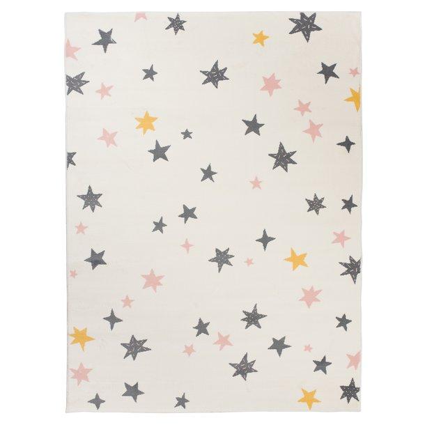 Dětský koberec NOX hvězdičky - béžový
