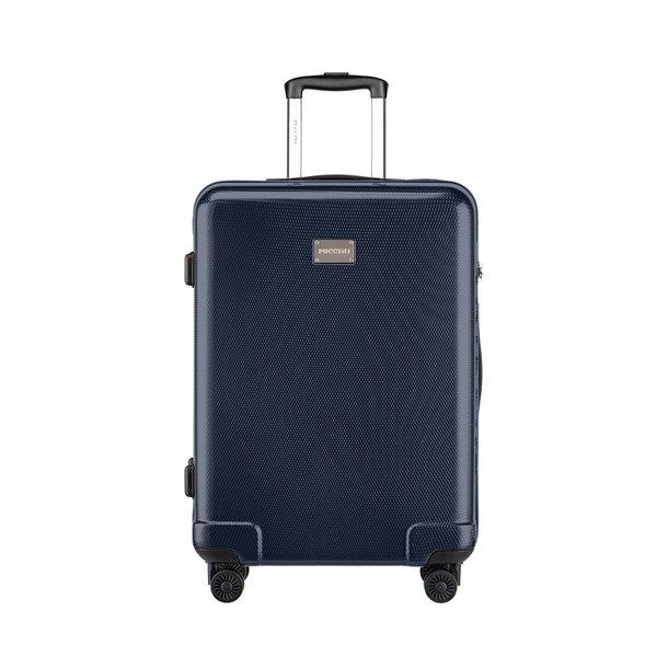 Moderní cestovní kufry PANAMA - NAVY modré - TSA zámek