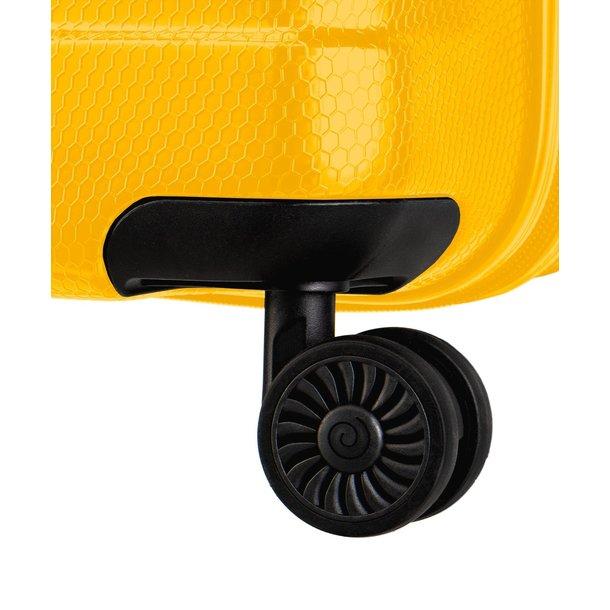 Moderní cestovní kufry PANAMA - žluté - TSA zámek