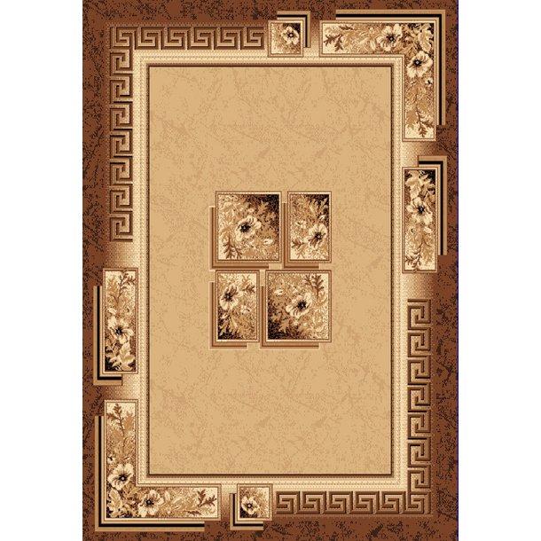 Kusový koberec ATLAS quatro - béžový/hnědý