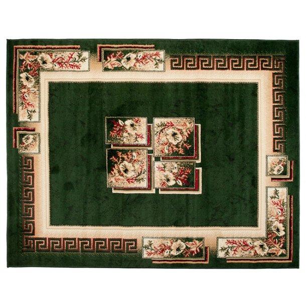 Kusový koberec ATLAS quatro - béžový/zelený