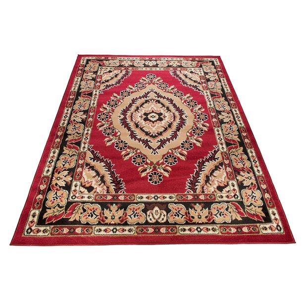 Kusový koberec ATLAS classic - béžový/červený
