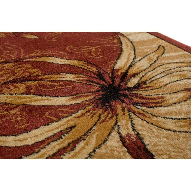 Kusový koberec ATLAS garden - béžový/hnědý