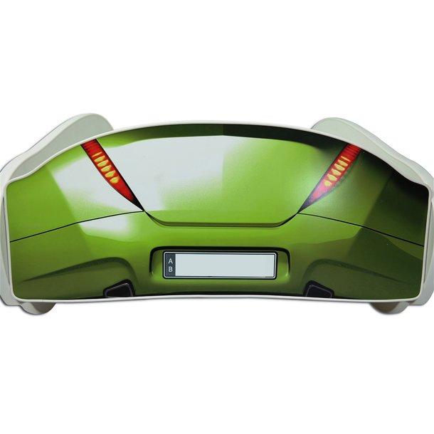 SKLADEM: Dětská autopostel S-CAR 140x70 cm - zelená