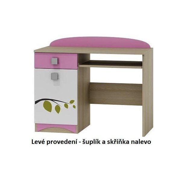 SKLADEM: Psací stůl SOVY  - TYP A - pravé provedení