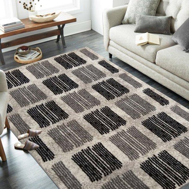 Kusový koberec PANNE marks - odstíny šedé