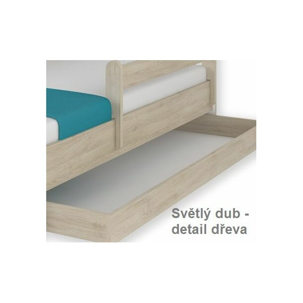 SKLADEM: Dětská postel MAX se šuplíkem Disney - FROZEN 160x80 cm - bez matrace