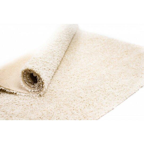 Kusový koberec SHAGGY WIKI – bílý